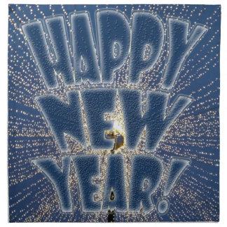 New Year s Lights Napkin