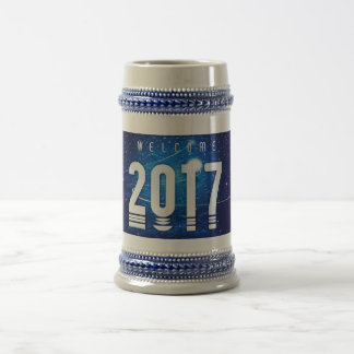 New year special Gray/Blue 22 oz Stein
