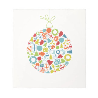 New Year sphere2 Notepad