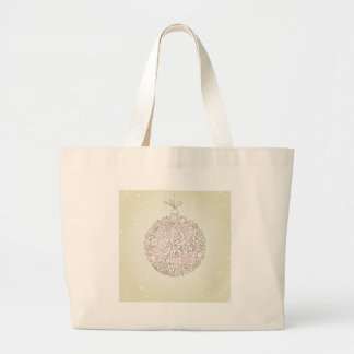 New Year sphere4 Large Tote Bag