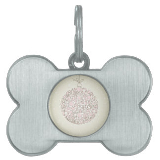 New Year sphere4 Pet Name Tag