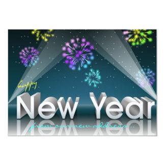 New Year Spotlights Card