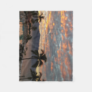 New Year Sunrise in Mexico Fleece Blanket