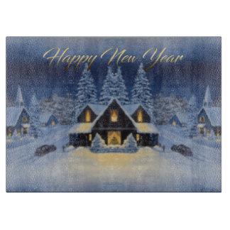 New Year Theme Cutting Board