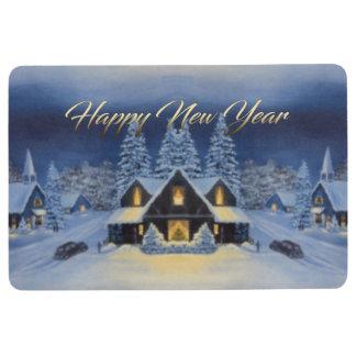 New Year theme Floor Mat