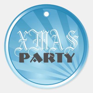 New Year   Xmas Celebration Party Sticker