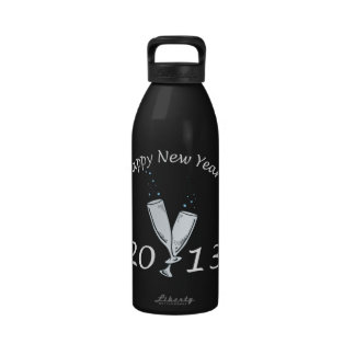 New Years 2013 Water Bottles