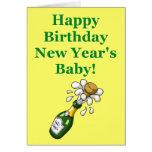 New Year's Birthday Card
