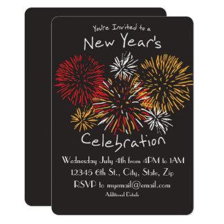 New Year's Celebration Invitation