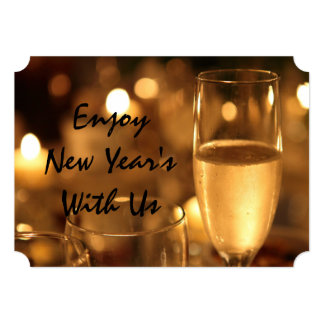 """New Year's (Corporate) Card by RoseWrites 5"""" X 7"""" Invitation Card"""