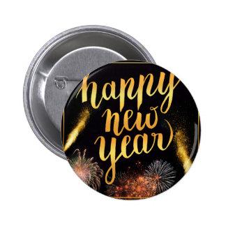 New-Years-Day 2 Inch Round Button