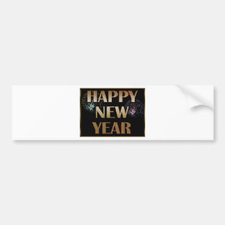 New-Years-Day Bumper Sticker