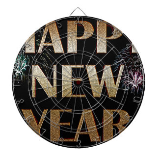 New-Years-Day Dartboard