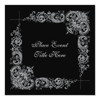 New Years Day Party Invitation