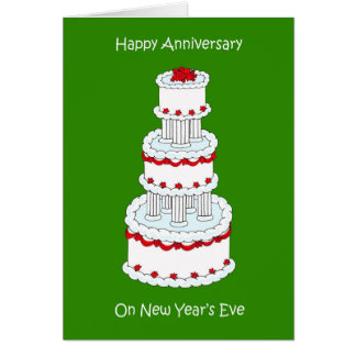 New Years Eve Anniversary Card