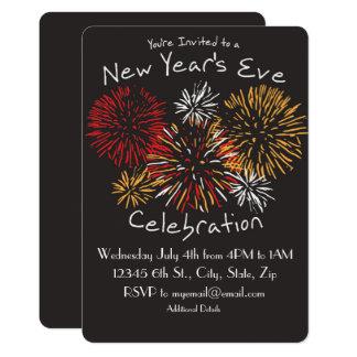 New Year's  Eve Celebration Invitation