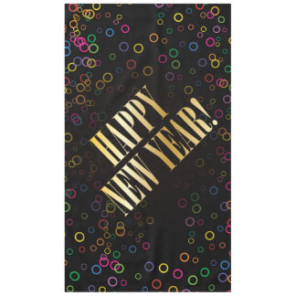 New Years Eve colorful confetti - 60x104 Tablecloth