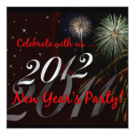 New Year's Eve Party Invitations - 2012