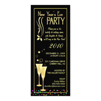 New Years Eve Party Invitations & Announcements   Zazzle Canada