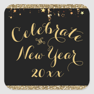 New Years Eve Party  Sticker - Sparkle Stars