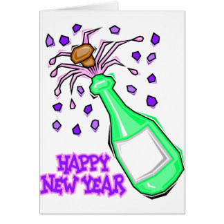 New Year's Eve Party T-Shirts New Years Party Greeting Card