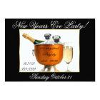New Year's Eve pug dog party invitation