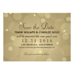 New Year's Eve Wedding Save the Date | Flat Card Personalized Announcement