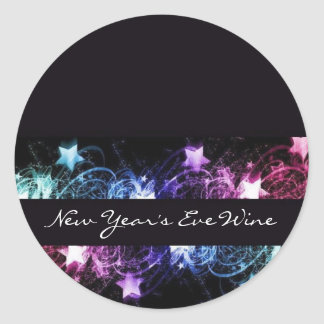 New Year's Eve Wine Labels