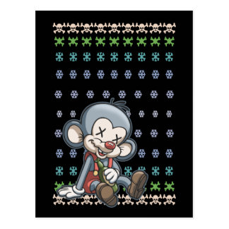 New Years Mouse Postcard