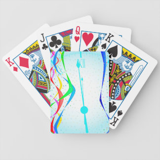 New Years Party Bicycle Playing Cards