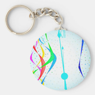 New Years Party Keychain