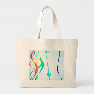 New Years Party Large Tote Bag