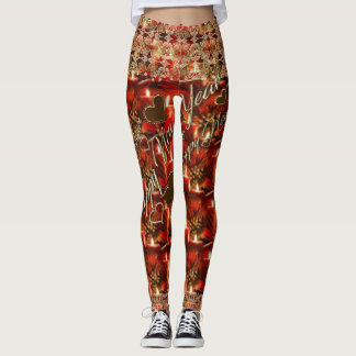 New Years Party Leggings