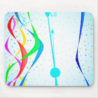 New Years Party Mouse Pad