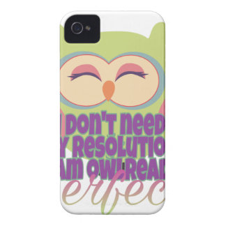 New years resolution iPhone 4 case