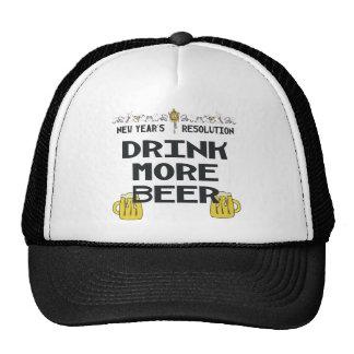 New Years Resolution Mesh Hat