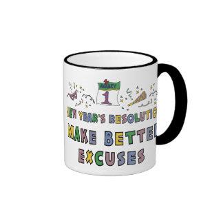 New Years Resolution Mugs