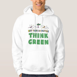 New Years Resolution Think Green T-Shirt