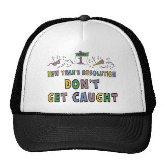 New Years Resolution Trucker Hat
