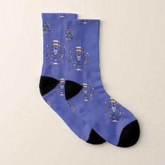New Year's Toast Socks 1