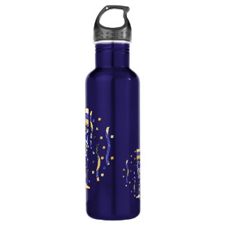 New Year's Toast Water Bottle