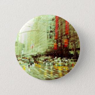 New York 2 2 Inch Round Button