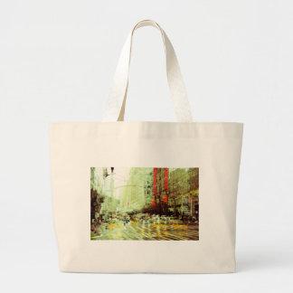 New York 2 Large Tote Bag