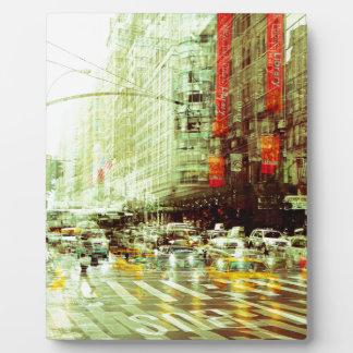 New York 2 Plaque