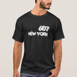 New York 607 area code T-Shirt