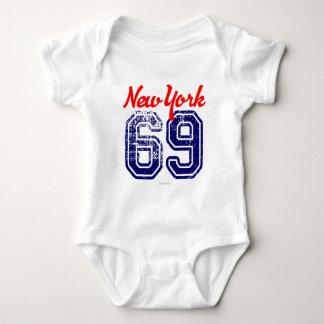 New York 69 USA Sports by VIMAGO Baby Bodysuit