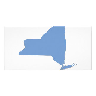 New York: A Blue State Customized Photo Card