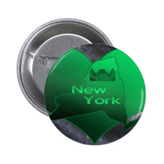 New York à la maison Badge Avec Épingle
