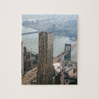 New York aerial view Jigsaw Puzzle