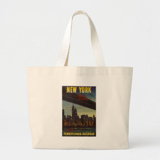 New York Always Exciting Large Tote Bag
